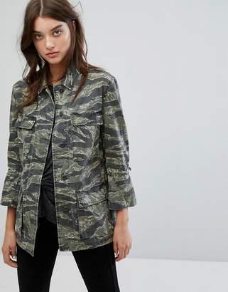 AllSaints Rasko Jacket in Camo