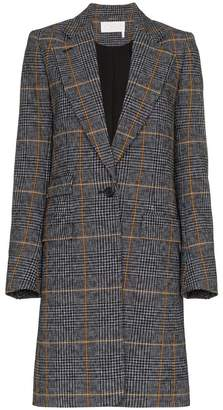 Chloé single-breasted check coat