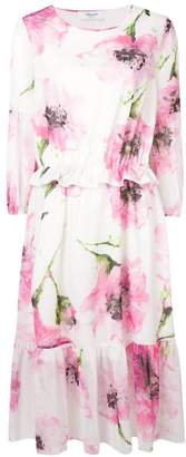 Blugirl floral print midi dress