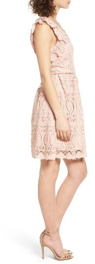 Women's J.o.a. Lace Fit & Flare Dress 3