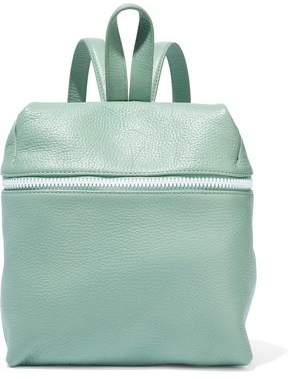 Kara Small Pebbled-leather Backpack