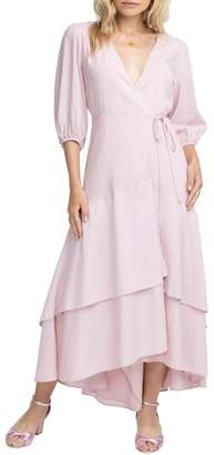 ASTR the Label Shawna Wrap Maxi Dress