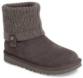 UGG Saela Rib-Knit Cuff Boot (Women)