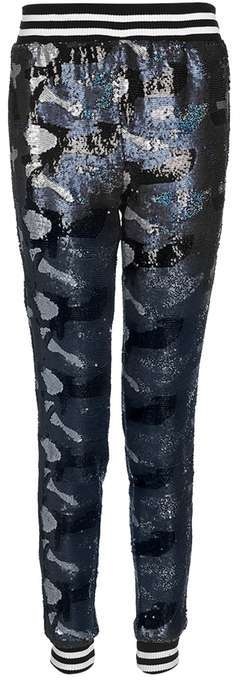 TopshopTopshop Sequin camouflage joggers