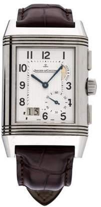 Jaeger-LeCoultre Reverso Grande Date GMT 8 Days Watch silver Reverso Grande Date GMT 8 Days Watch