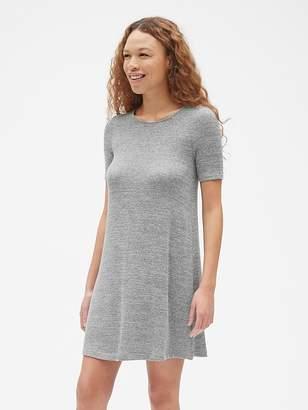 Gap Softspun Short Sleeve Swing Dress