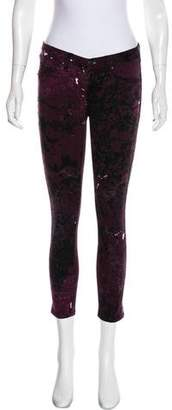 Rag & Bone Printed Skinny Jeans