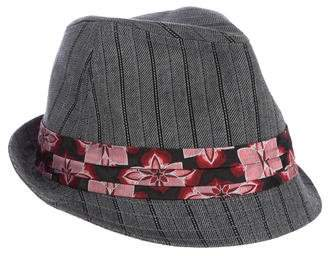 Goorin Bros. Floral-Trimmed Fedora Hat