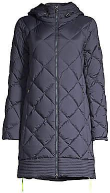 Bogner Women's Pamela-D Diamond-Quilted Down Walker Coat