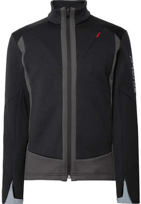 Phenix Akakura Fleece-Back Stretch-Shell And Nylon-Blend Zip-Up Mid-Layer