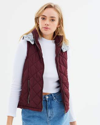 All About Eve Runner Puffer Vest