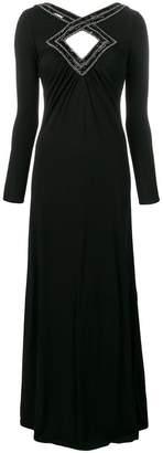 Emilio Pucci long keyhole dress