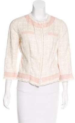 Dolce & Gabbana Lightweight Tweed Blazer