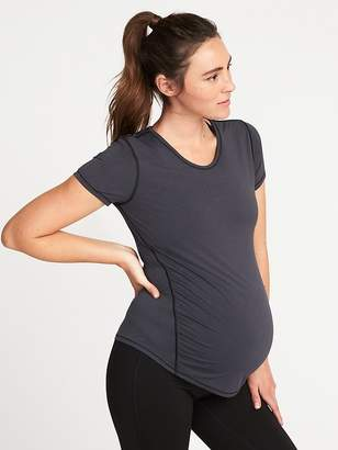 Old Navy Maternity Semi-Fitted Ultra-Light Performance Tee