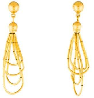 Gurhan 24K Delicate Rain Drop Earrings