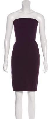 L'Agence Strapless Mini Dress
