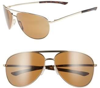 Smith Serpico Slim 2.0 65mm ChromaPop(TM) Polarized Aviator Sunglasses