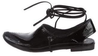 Marsèll Patent Leather Slingback Flats