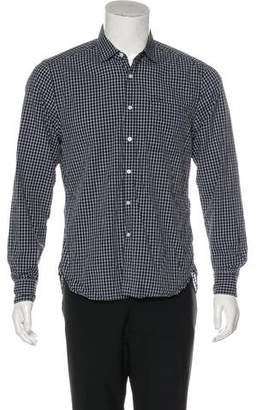 Shipley & Halmos Gingham Woven Shirt