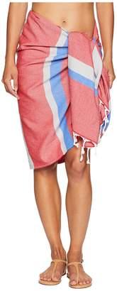 Plush Soleil Turkish Blanket Wrap Pareo Scarves