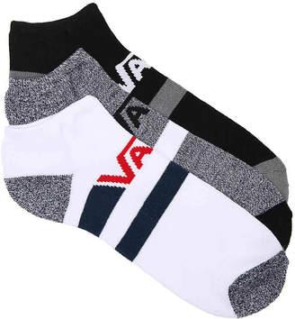 Vans Stripe No Show Socks - 3 Pack - Men's