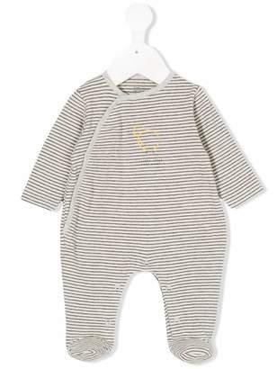 Knot Little chick striped pyjamas