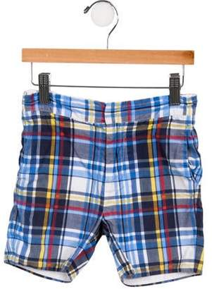 Baby CZ Boys' Plaid Shorts