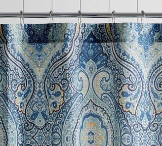 Pottery Barn Beale Paisley Print Shower Curtain