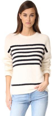 FRAME Boxy Boyfriend Sweater $399 thestylecure.com