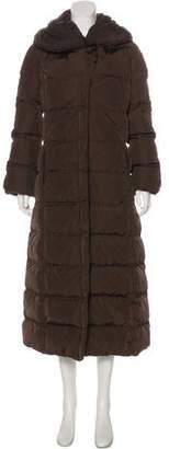 Moncler Down Long Coat