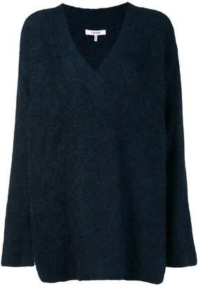 Ganni v-neck sweater