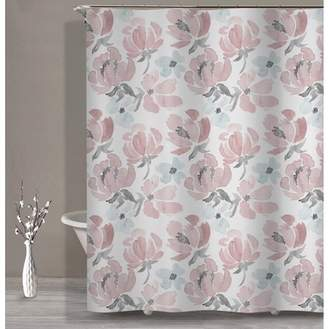 Style Quarters Soft water color floral shower curtain