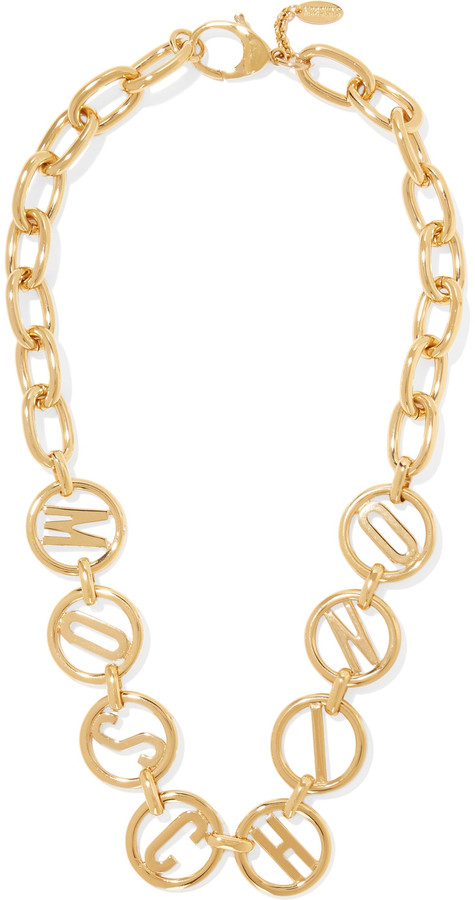 Moschino Moschino Gold-tone necklace