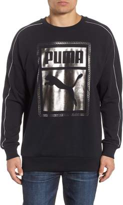 Puma Chains Logo Graphic Sweatshirt