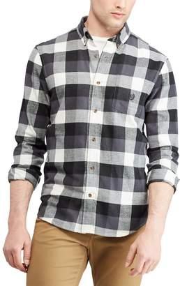 Chaps Men's Slim-Fit Plaid Flannel Button-Down Shirt