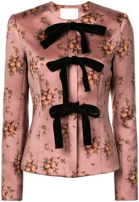 Brock Collection floral brocade jacket