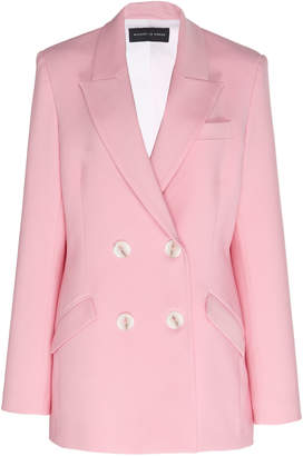 Michael Lo Sordo Wool Double-Breasted Blazer