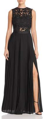 Aqua Lace Bodice Gown - 100% Exclusive