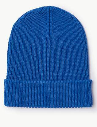 Marks and Spencer Cable Knit Beanie Hat