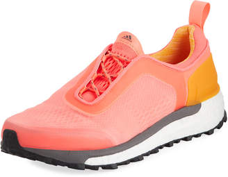 adidas by Stella McCartney Supernova Trail Knit Sneakers, Orange