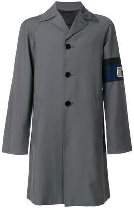 Prada long patch jacket
