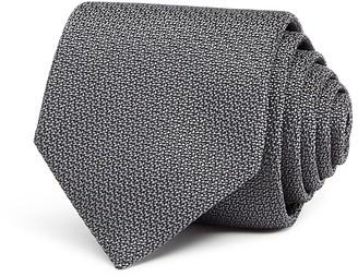 Salvatore Ferragamo Textured Solid Classic Tie $190 thestylecure.com