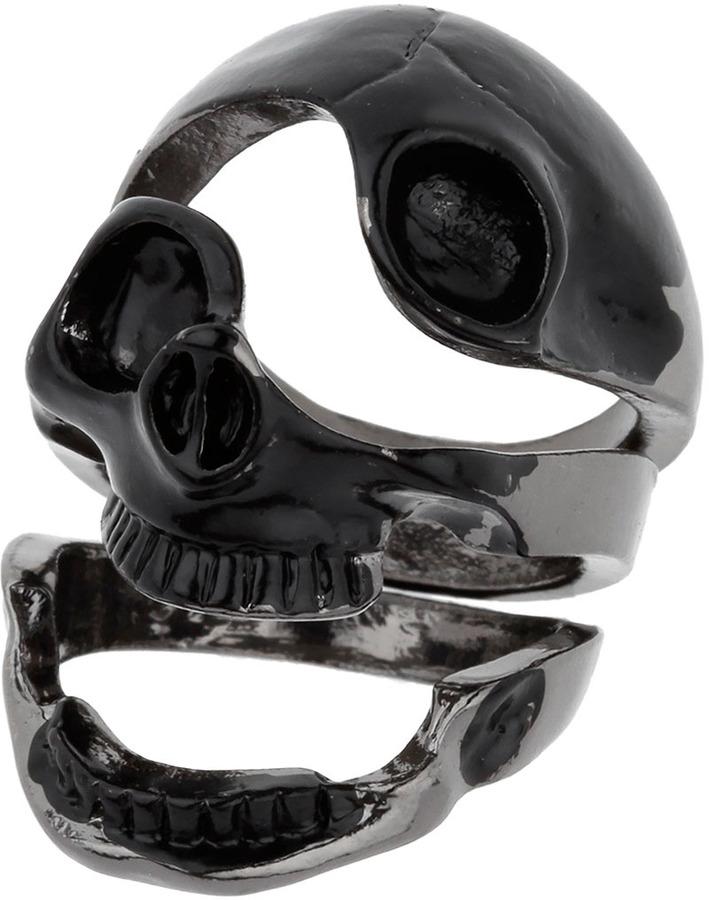 Topman Articulated Skull Ring