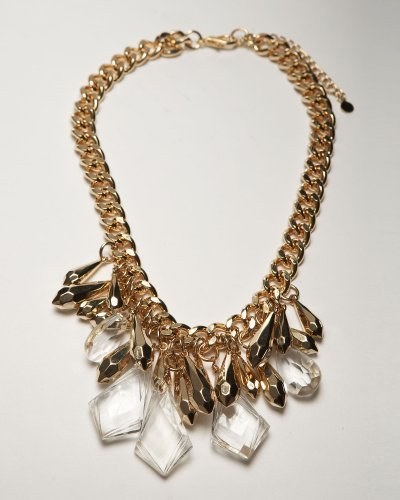 Precious Stones & Metal Necklace