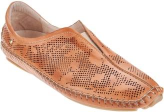 PIKOLINOS Lazer Perforated Leather Slip On Shoes - Jerez