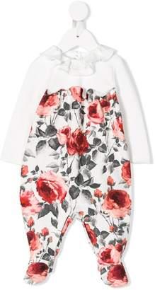 Miss Blumarine floral print pajamas