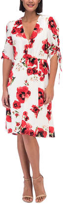 Bobeau Ember Rouch Sleeve Dress