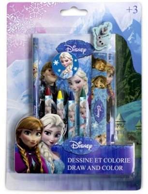 Disney Disneys Frozen Colour & Draw Creative Set