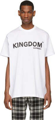 Burberry White Kingdom T-Shirt