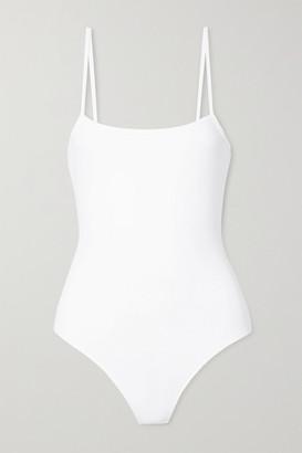 ATM Anthony Thomas Melillo Stretch Pima-cotton Jersey Thong Bodysuit